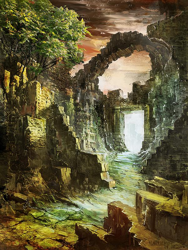 ruins by Skulio