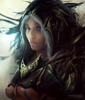 Fantasy Girl by Skulio
