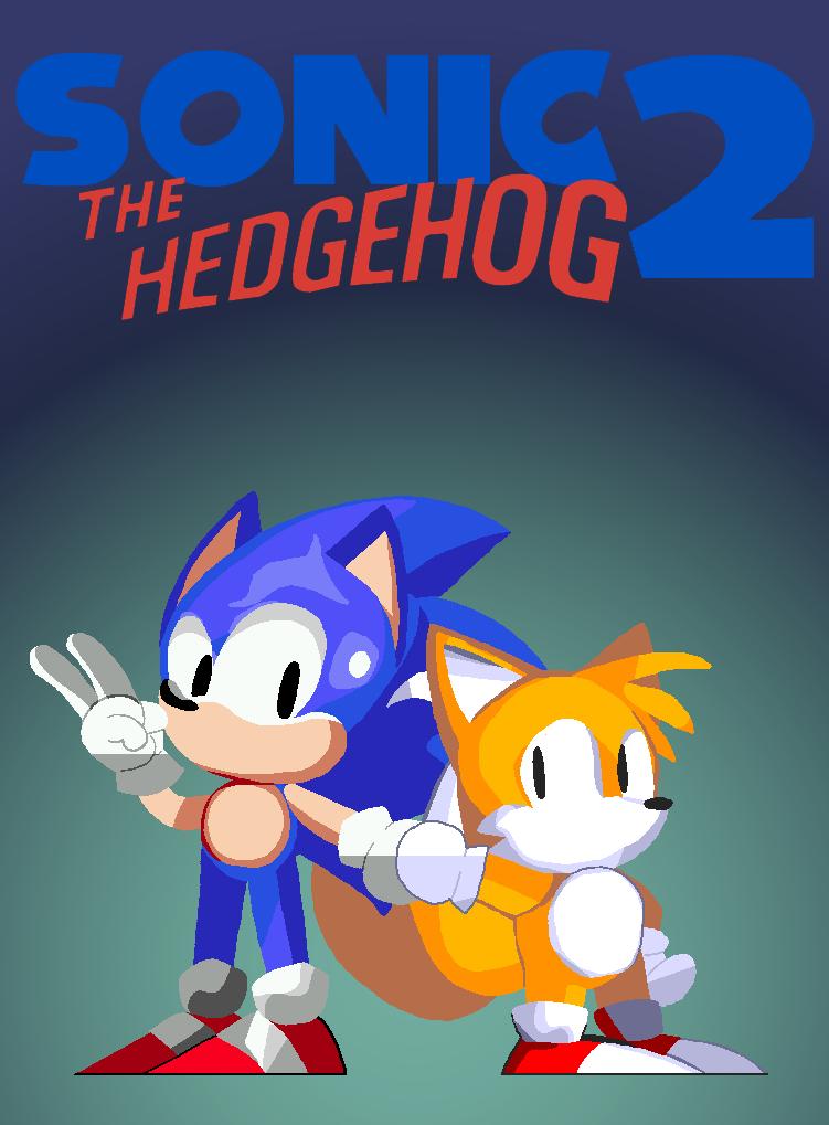Sonic The Hedgehog 2 1992 By Zakkusonikku On Deviantart