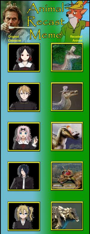 Cretaceous Kaguya-sama.