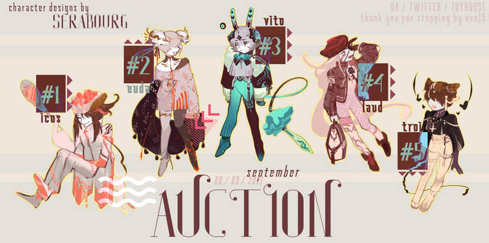 adoptable auction - open (2/5) - darlings