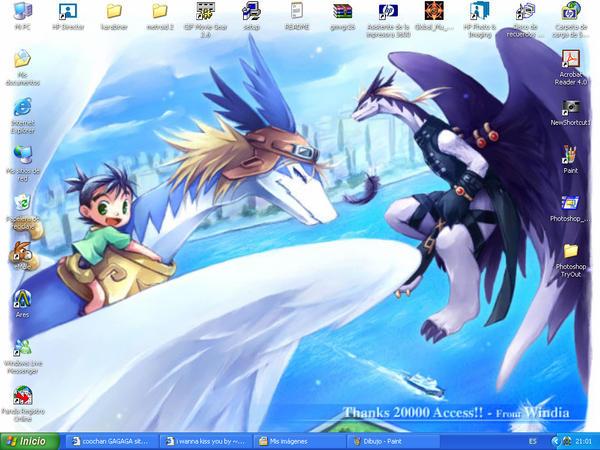 new desktop by danielssj4
