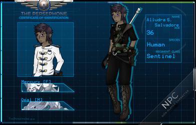 TP: Alludra Silvas Salvadore   [Sentinel NPC] by Corvid-Veil