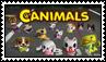 Canimals stamp