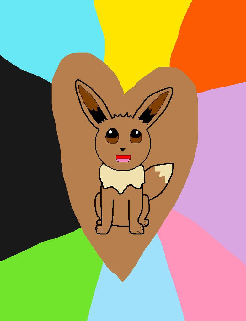 My Eevee drawing by Priveto4ka