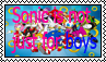 Sonic is not just for boys stamp by Priveto4ka