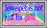 Jewelpet is not just for girls stamp