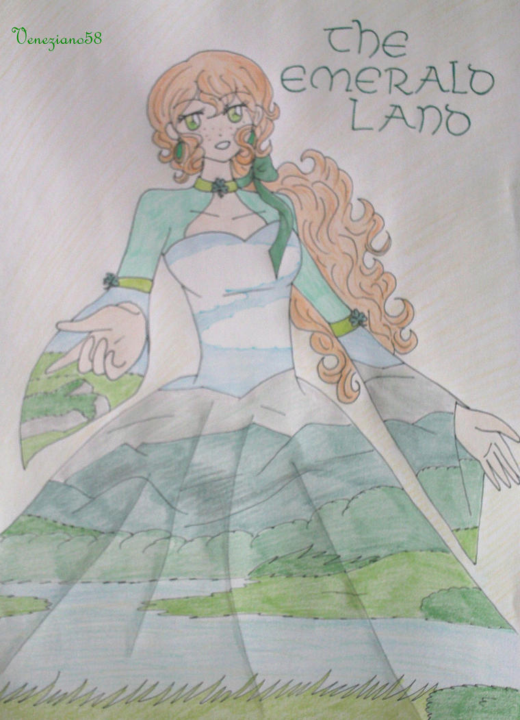 The emerald Land by Veneziano58