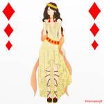 Formal dress: Ace of Diamond by Veneziano58