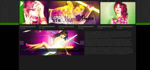 Cheryl Cole layout
