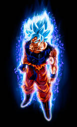 Goku Ultra Instinct SSJ Blue