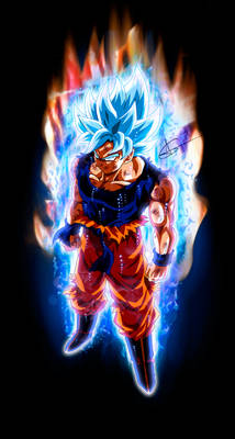 Goku Perfect Ultra Instinct SSJ Blue