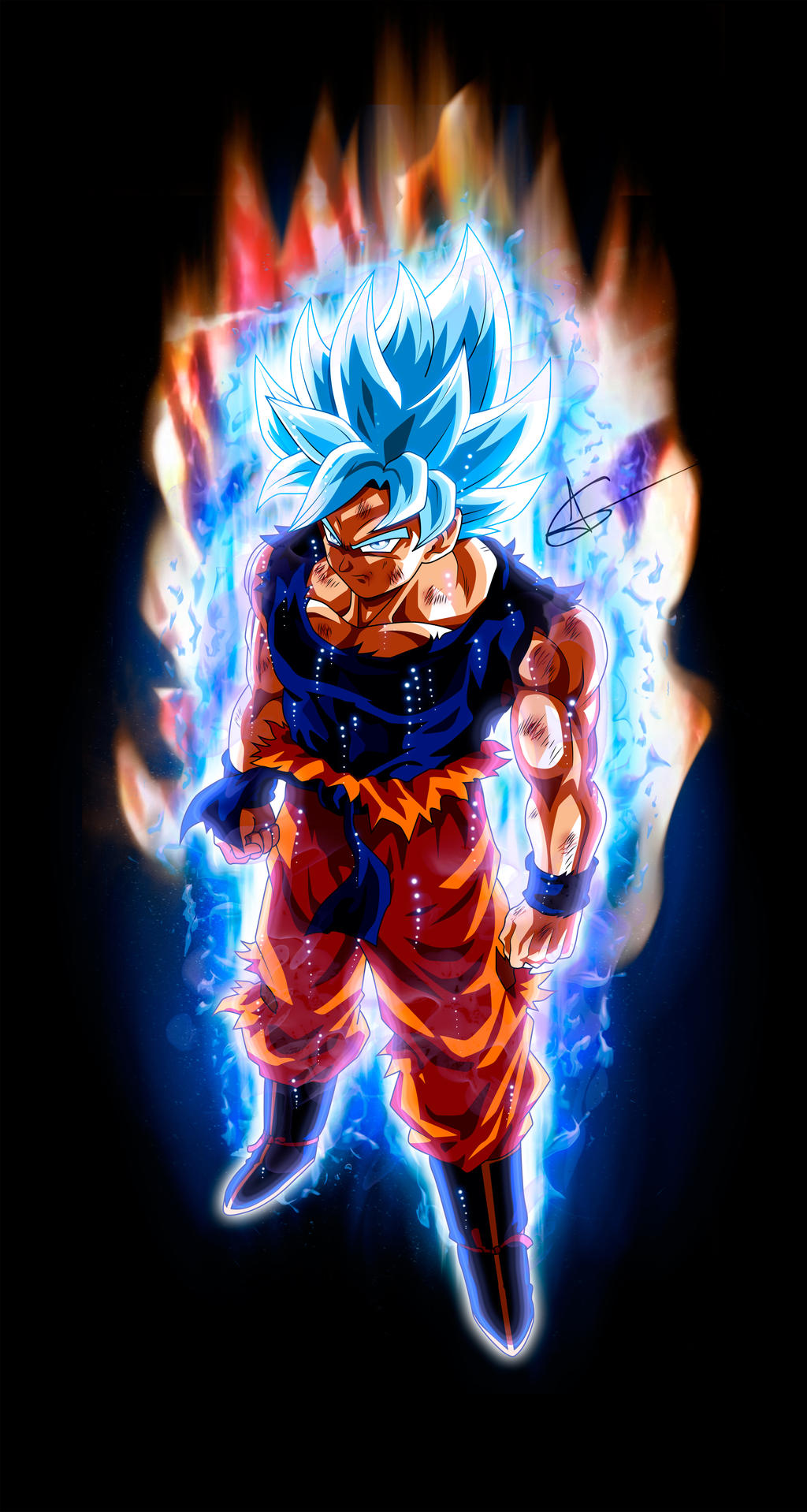 1024x1918px goku ultra instinct mastered wallpapers - Goku ultra instinct mastered wallpaper ...