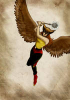 Hawkgirl by Mariey