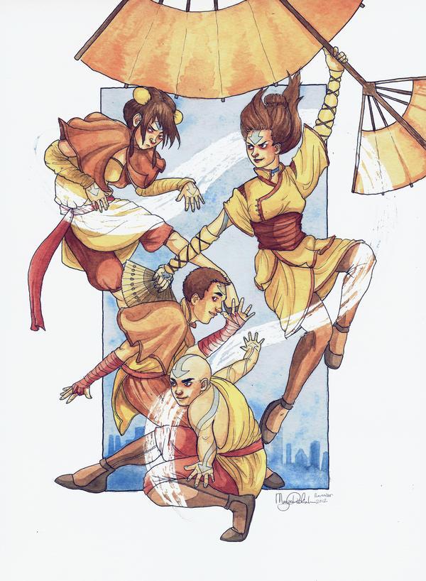 Tenzin's kids by Mariey