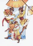 Tenzin's kids
