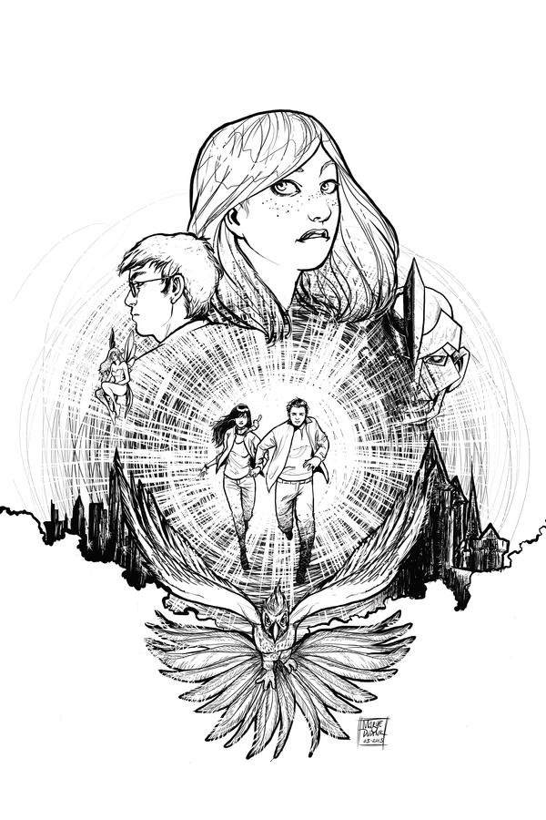 The Rise of Aodh - Cover Line Art by Mariey