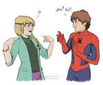 Spider-Hiccup and Gwenstrid