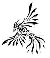 Phoenix tattoo by Di-Gon