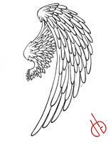 Bird Wing by Di-Gon