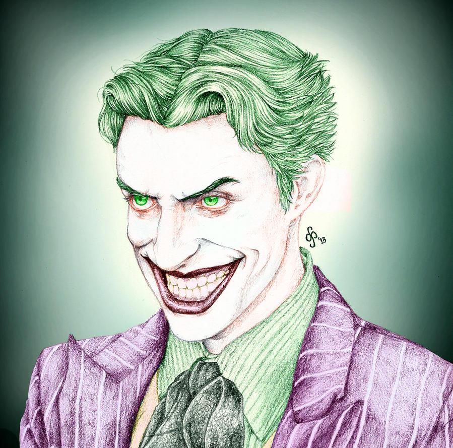 Joker - Anthony Misiano Colored by bakero-ichiban