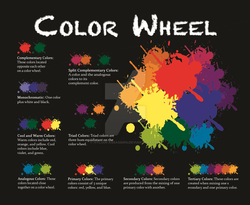 Color Wheel Project 8x11 By Hylian Assassins