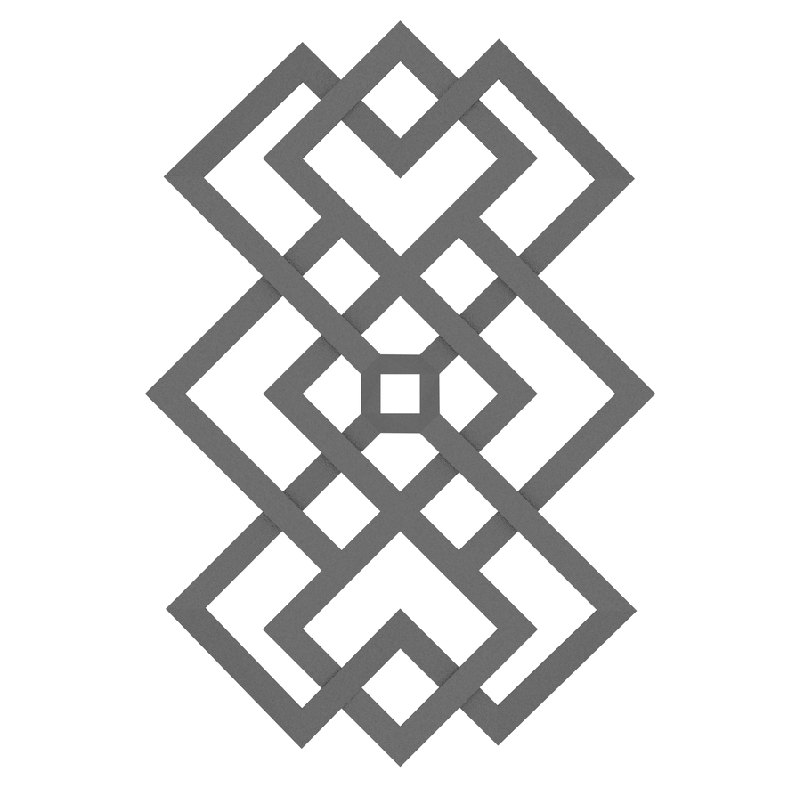 geometric shape by Allexbiggb