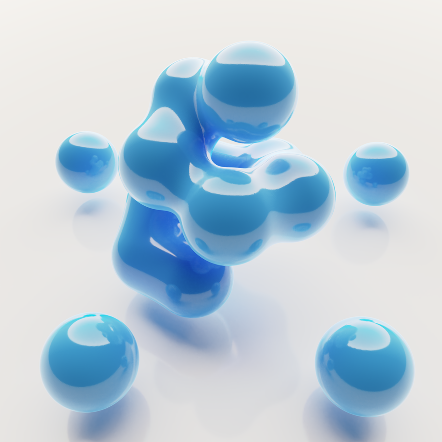 Blender abstract by Allexbiggb