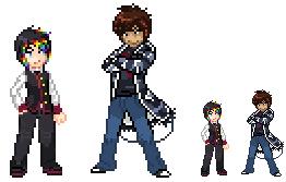Trainer sprites by Innuo