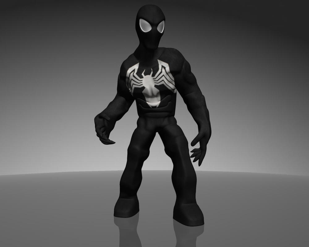 All New Black Suit Spider-Man by dead82 on DeviantArt
