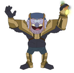 Grunkle Thanos by dead82