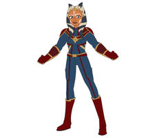 Captain Marvel Ahsoka