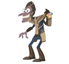 Thanos Doofenshmirtz by dead82