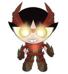 Red Lantern Buttercup by dead82