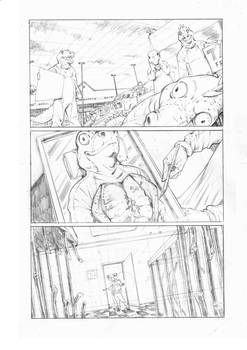 In Plain Sight - Observatory Comics - Pencils