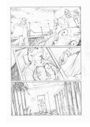 In Plain Sight - Observatory Comics - Pencils by MikaelNoon92