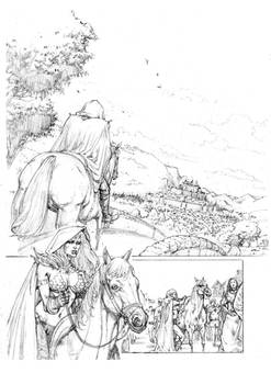 Red Sonja 01 Pencil
