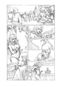 Red Sonja 02 Pencil