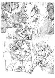 Red Sonja 4 by MikaelNoon92