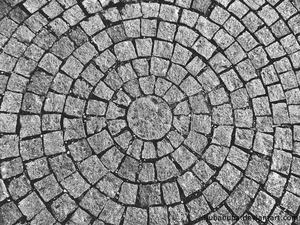 squares making circles by LjubaBuba