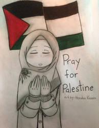 Pray for Palestine by HenshinKaizen