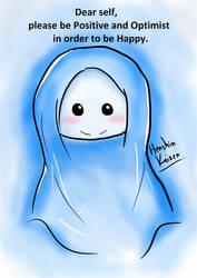 Blue watercolour Doodle