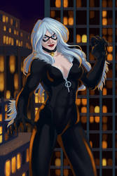Black Cat by clvago