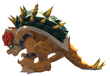Giga Bowser Standing by TransparentJiggly64