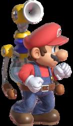 Super Mario Standing F.L.U.D.D.
