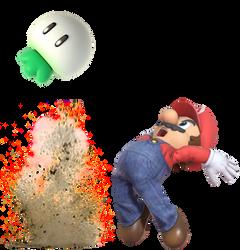 Super Mario Plucking a Turnip