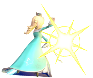 Rosalina creating a Sparkle by TransparentJiggly64
