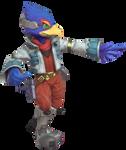 Falco Lombardi posing