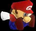 N64 Mario groundpounding