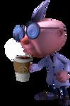 Professor E.Gadd with Coffee